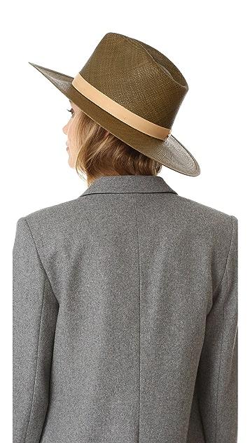 Janessa Leone Lani Tall Crown Panama Hat