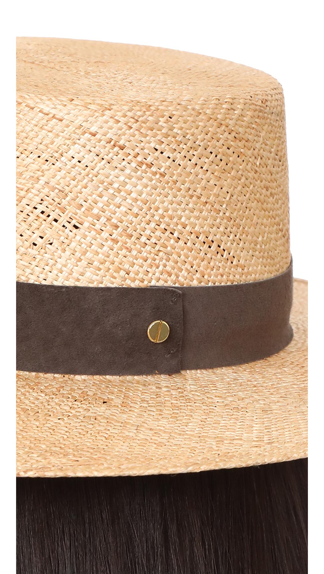 c2d3d9a7b42ce Janessa Leone Jade Bolero Hat