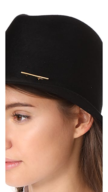 Janessa Leone Lane Fedora Hat