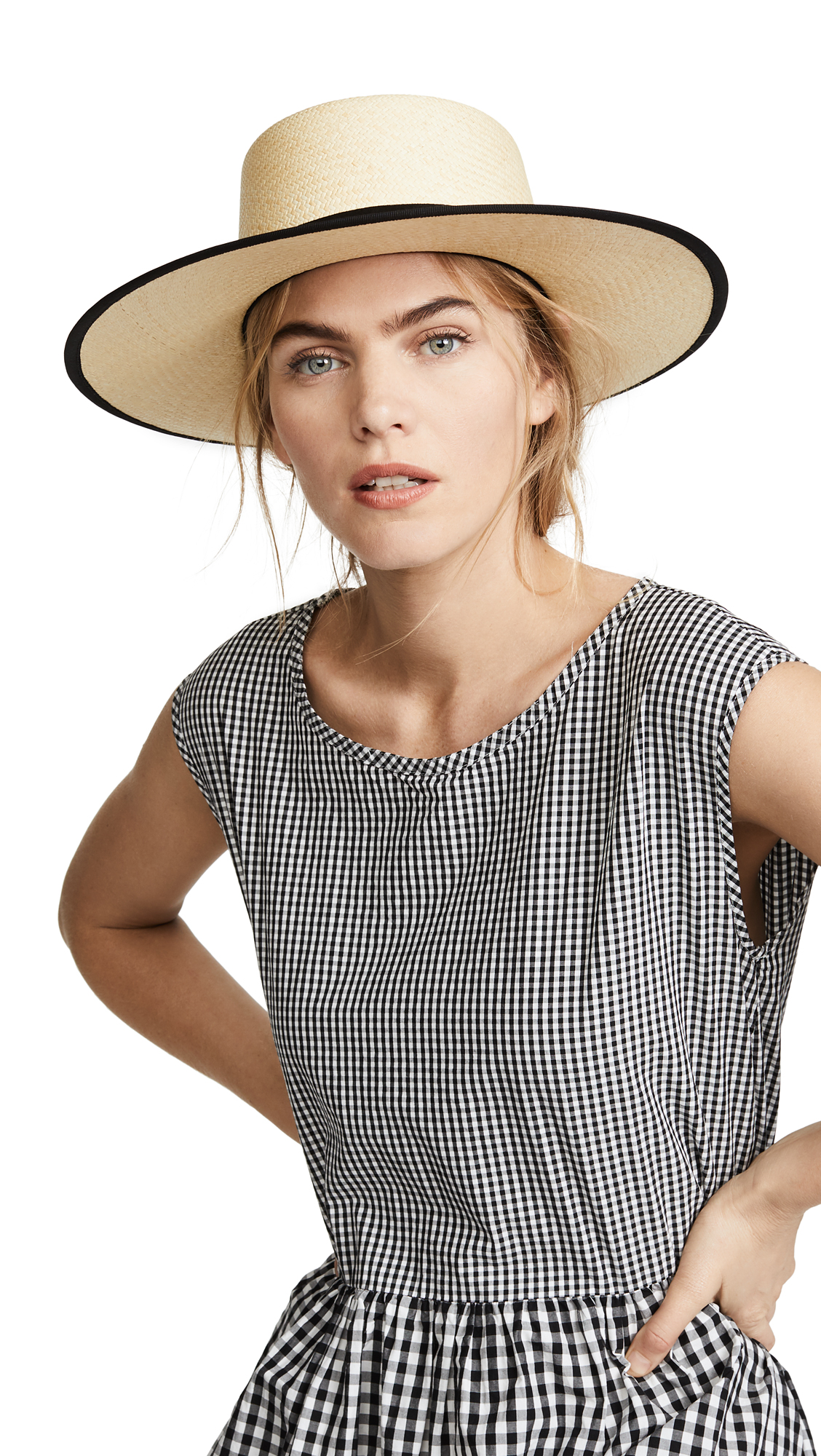Janessa Leone Willow Hat In Natural