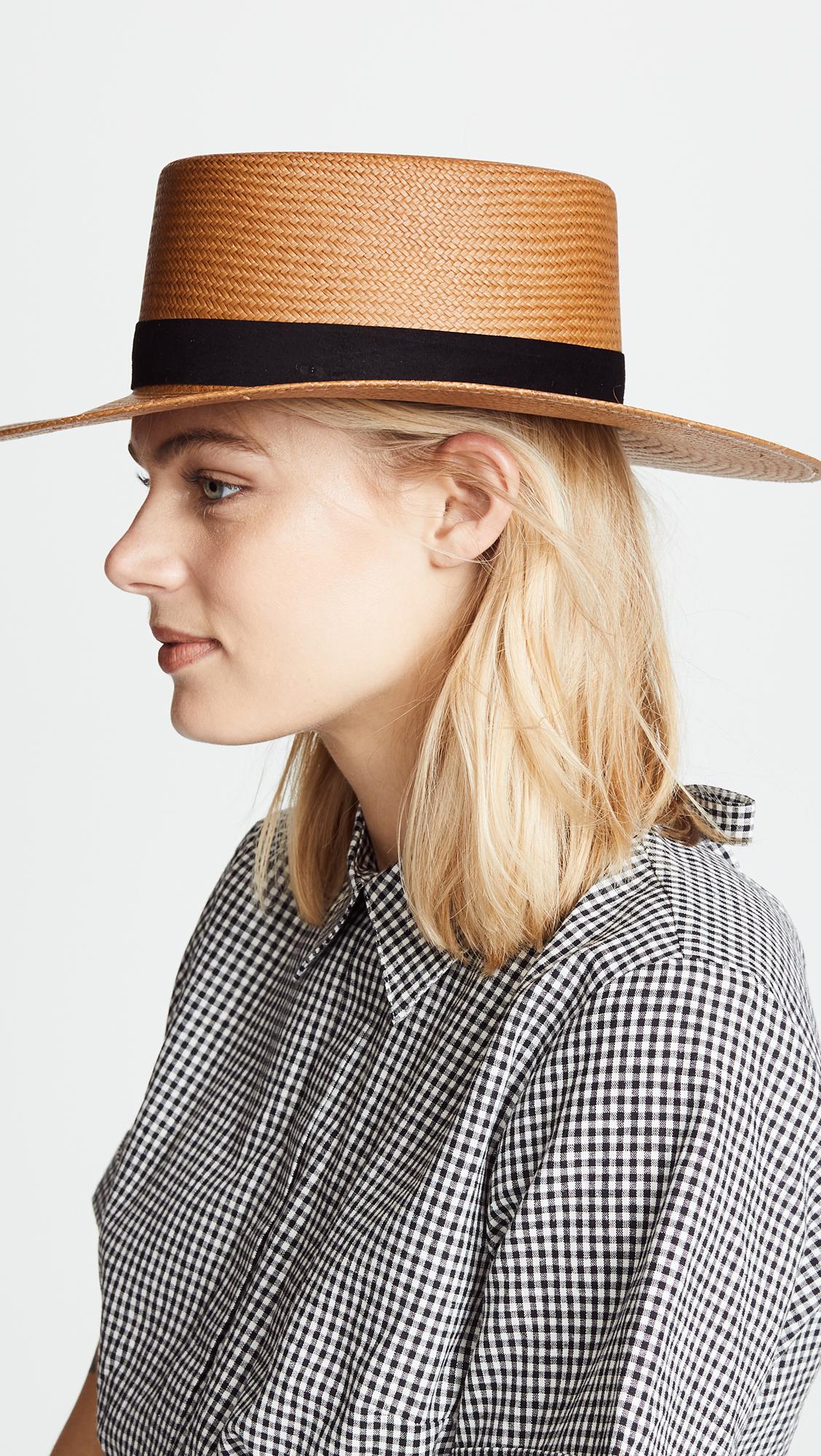Janessa Leone Bernt Hat  f7d6f14d9a8