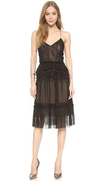 Jason Wu Collage Lace Slip Dress