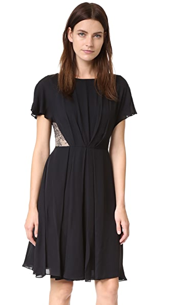 Jason Wu Silk Double Georgette Dress