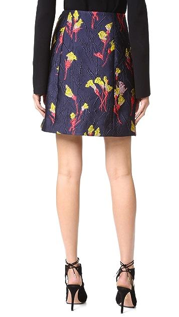 Jason Wu Floral Fields Jacquard Skirt