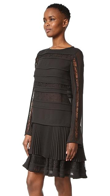 Jason Wu Long Sleeve Cocktail Dress