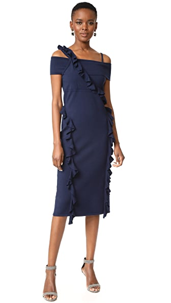 Jason Wu Ruffle Knit Dress
