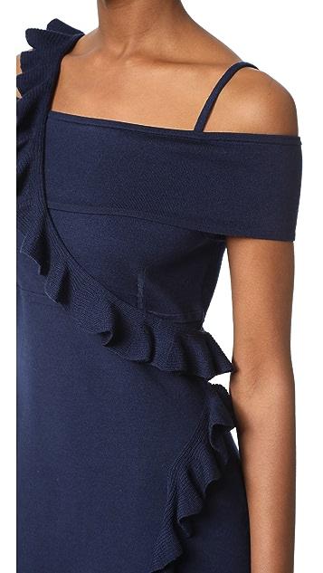 Jason Wu Ruffle Knit Dress