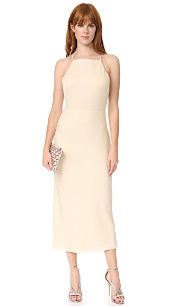 Jason Wu Sleeveless Cocktail Dress In Bone