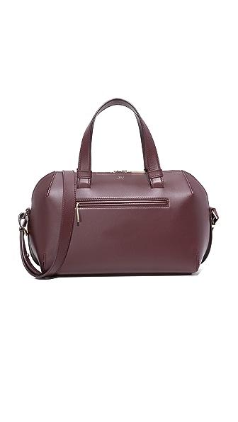 Jason Wu Mini Duffel Bag In Burgundy