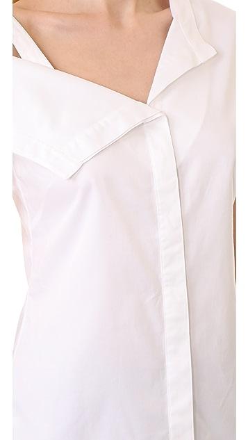 Jason Wu Asymmetrical Shirting Top