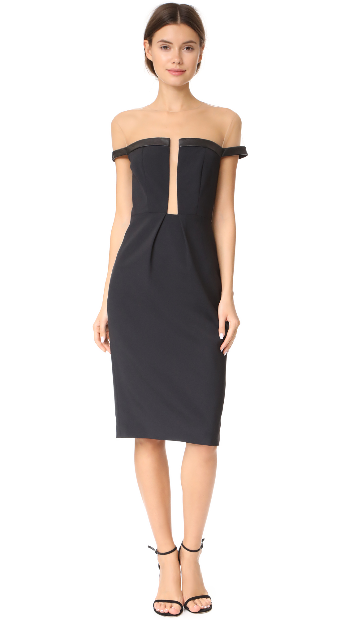 Julianna Bass Charlotte Dress - Black