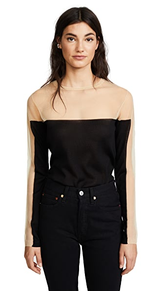 Julianna Bass Vanessa Sweater In Black