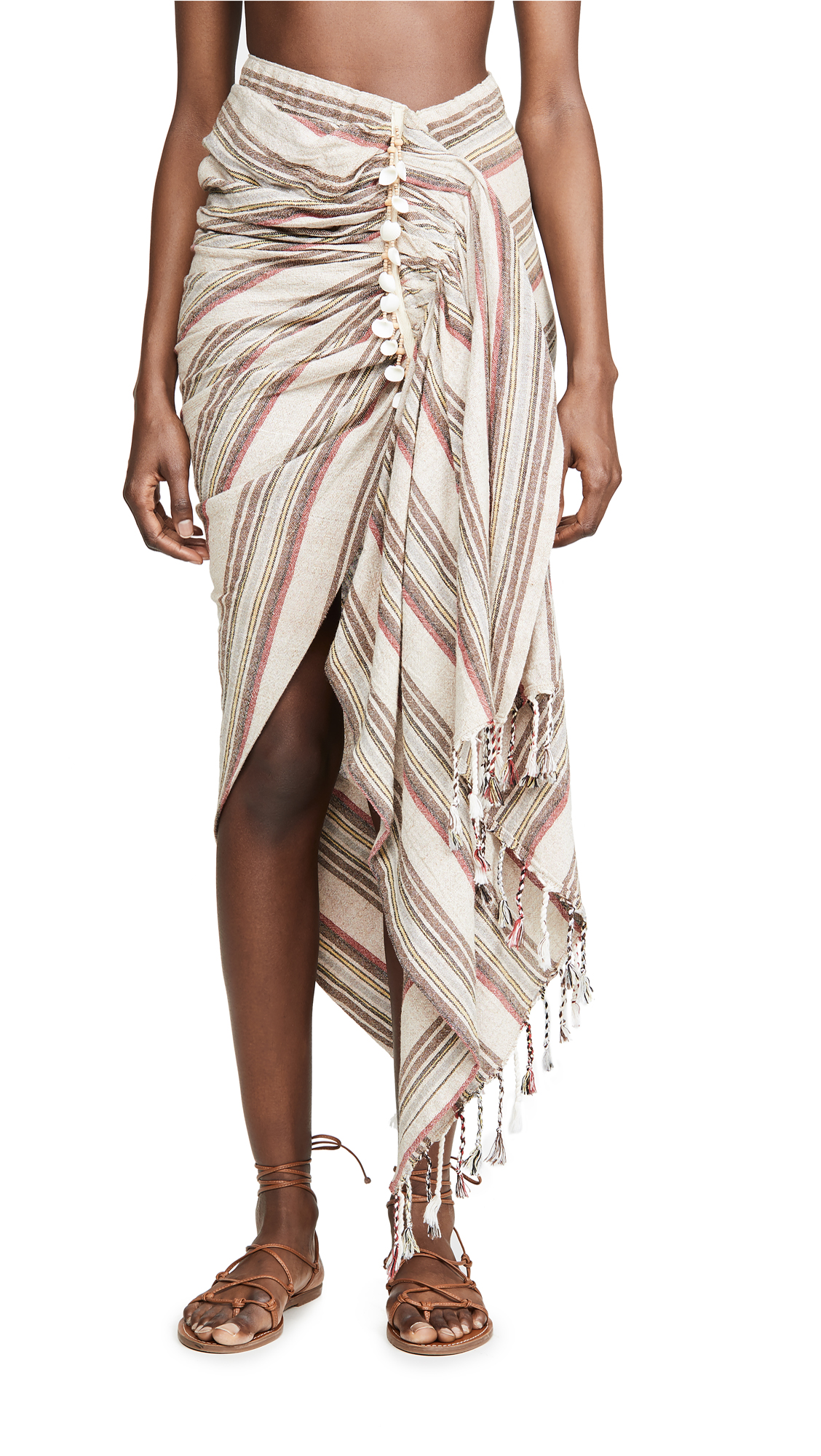 Buy Just BEE Queen online - photo of Just BEE Queen Tulum Cover Up Skirt
