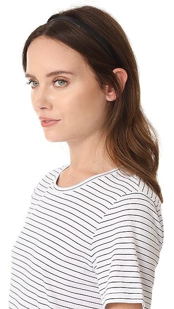 Jennifer Behr Thin Leather Headband