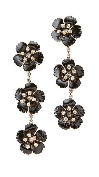 Jennifer Behr Belinda Dangle Earrings