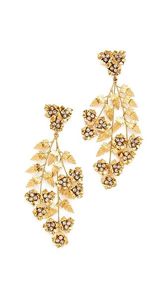 Jennifer Behr Aveline Chandelier Earrings - Gold