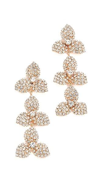 Jennifer Behr Chantal Dangle Earrings - Rose Gold