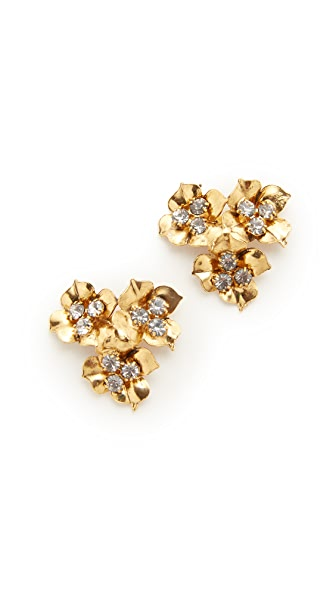 Jennifer Behr Maye Stud Earrings In Gold