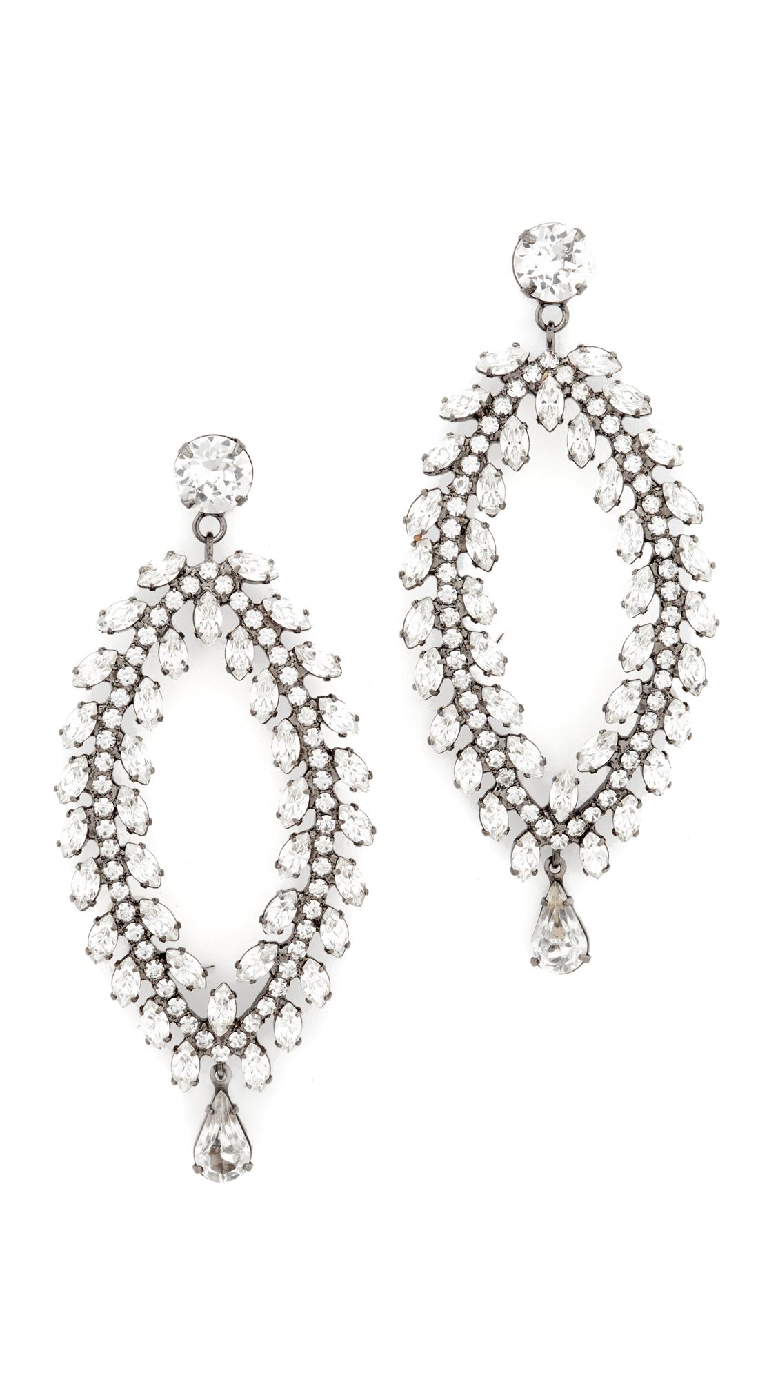 Jennifer Behr Crystal Earrings