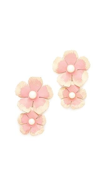 Jennifer Behr Farrah Earrings - Rose