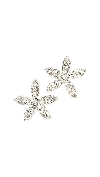 Jennifer Behr Orchid Earrings