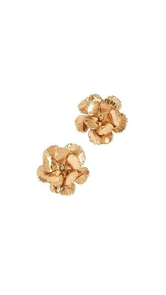 Jennifer Behr Juniper Earrings In Gold