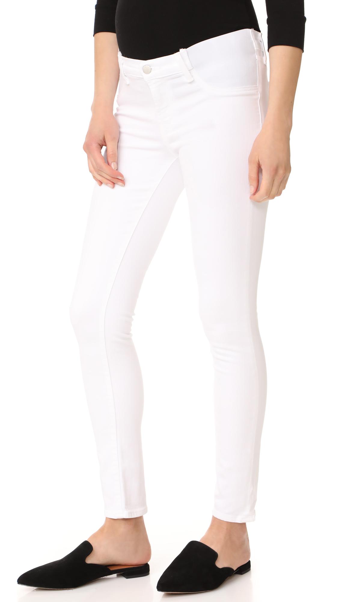 Buy J Brand online - photo of J Brand 34112 Maternity Rail Jeans
