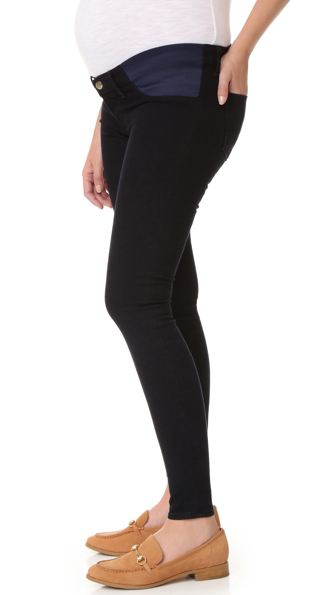 ab7bc51cdc84d J Brand 3401 Mama J Super Skinny Maternity Jeans | SHOPBOP