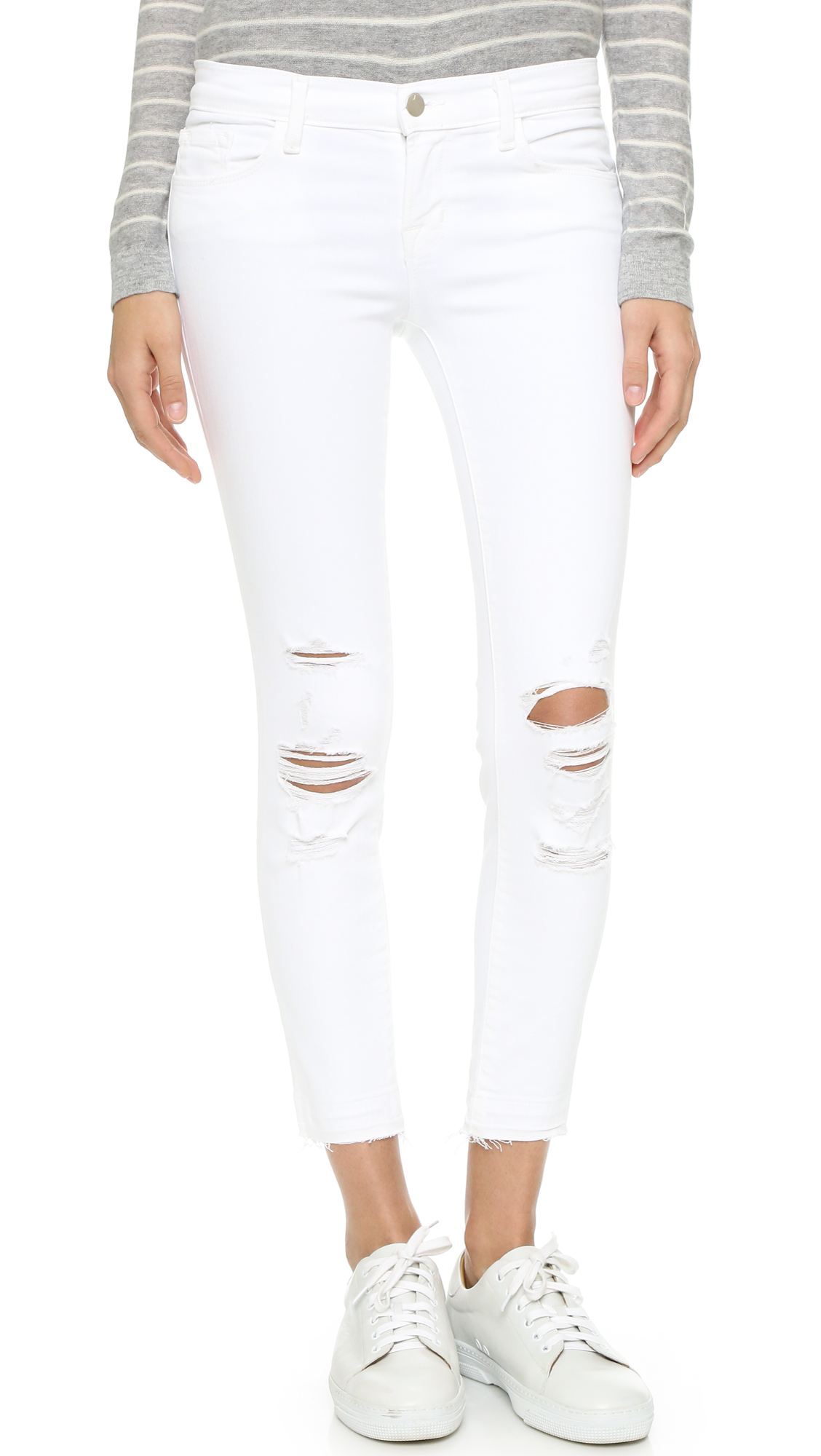 J Brand Cropped Skinny Jeans | 15% off first app purchase with ...
