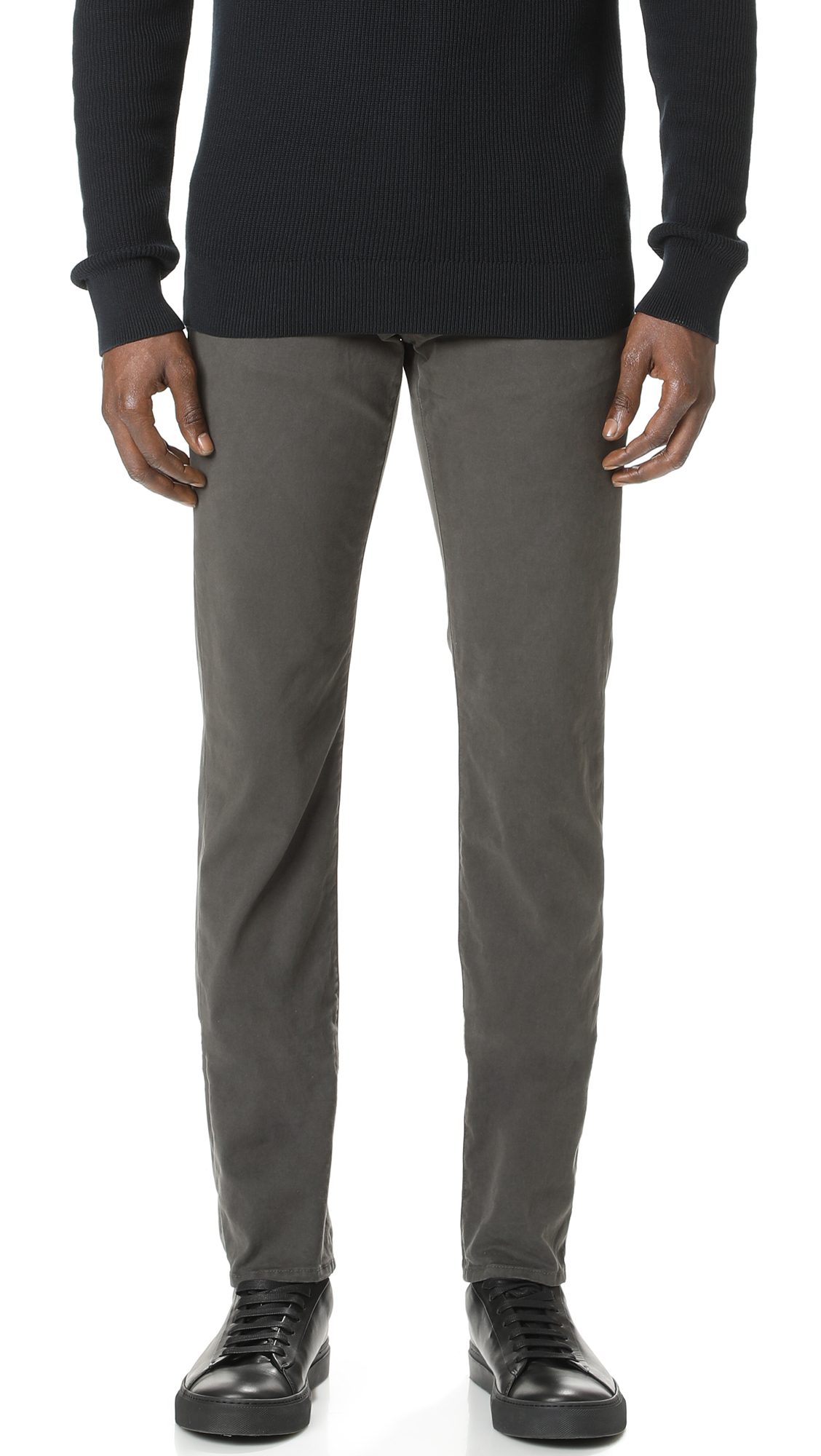 Kane Slim Straight Garment Dye Jeans