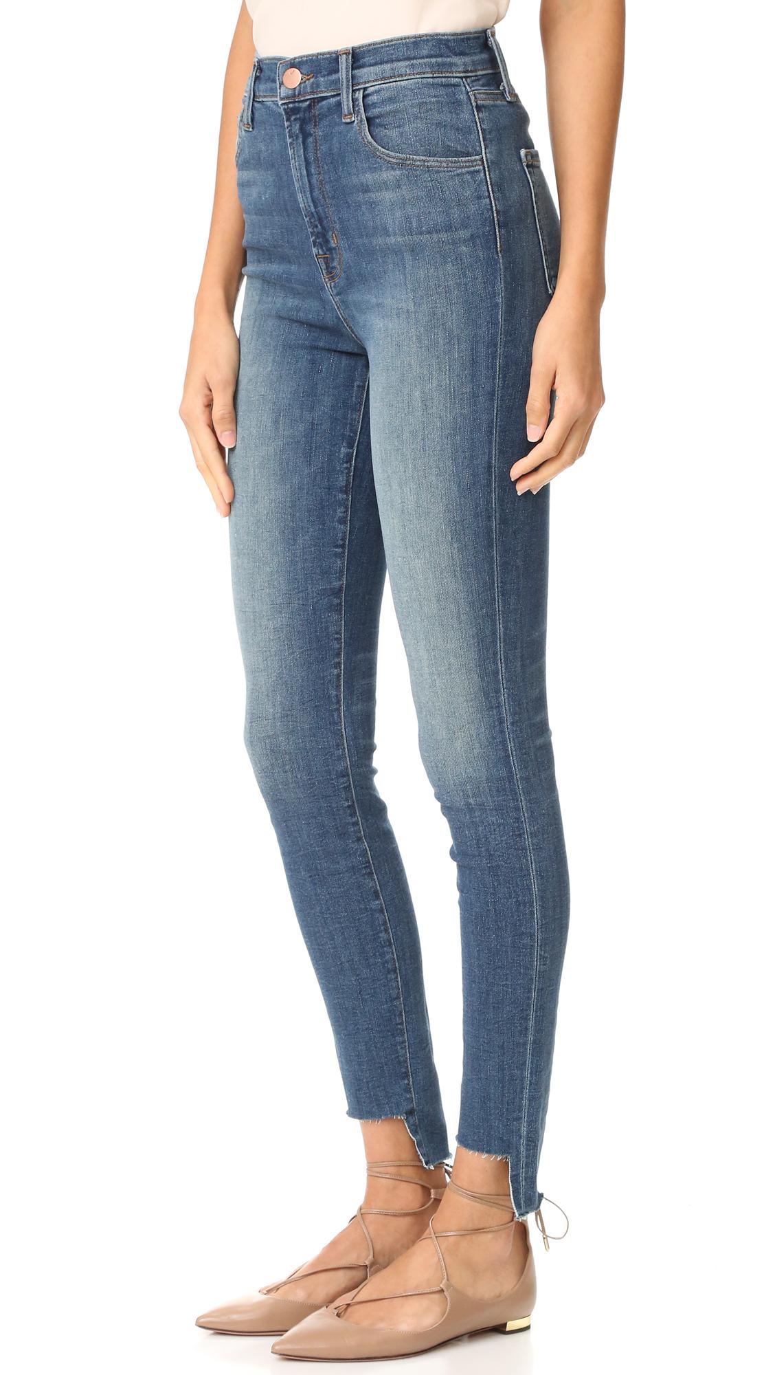 2ac6690f99fb J Brand Carolina High Rise Step Hem Jeans
