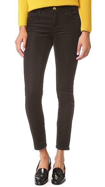 J Brand Mid Rise Skinny Corduroy Pants