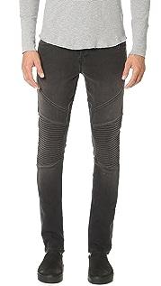 J Brand Bearden Moto French Terry Jeans