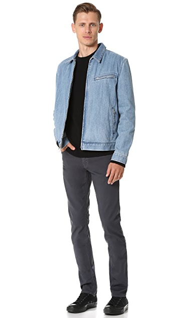 J Brand Tyler Slim Fit Garment Dye Jeans