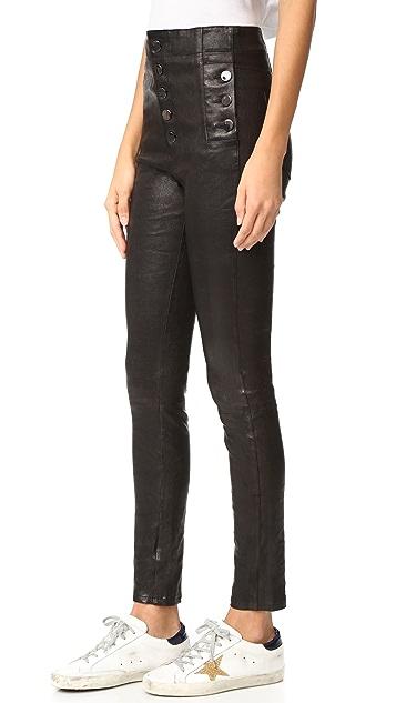 J Brand Natasha Leather Pants