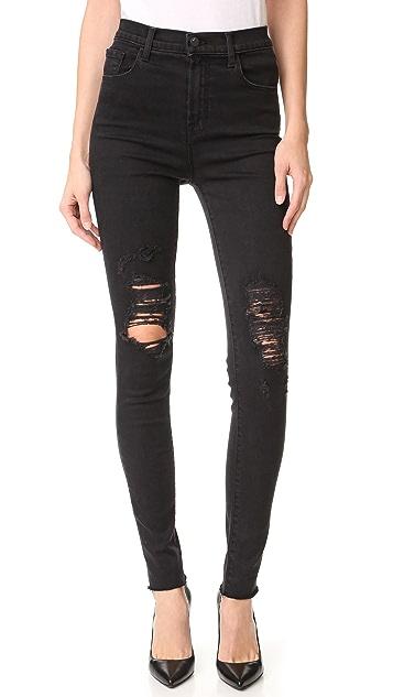 J Brand Carolina High Rise Jeans