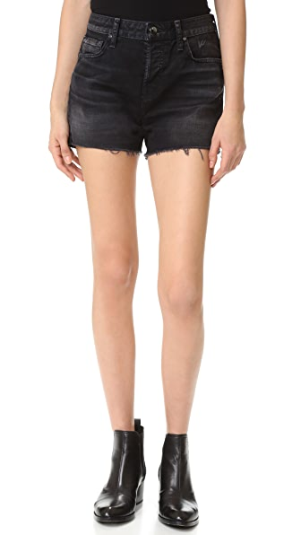 J Brand Gracie High Rise Shorts - Discreet