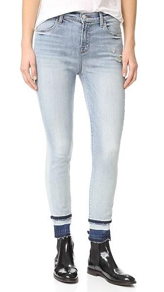J Brand Alana High Rise Skinny Jeans - Remnant