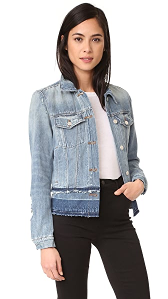 J Brand Deena Jacket with Released Hem