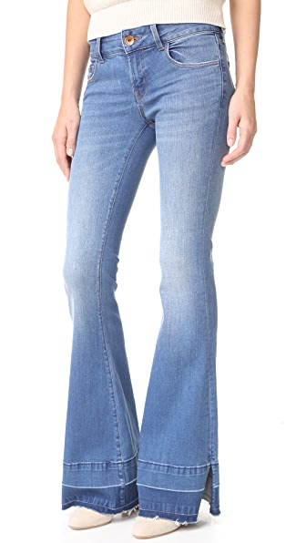 J Brand 722 Love Story Flare Jeans In Angelic