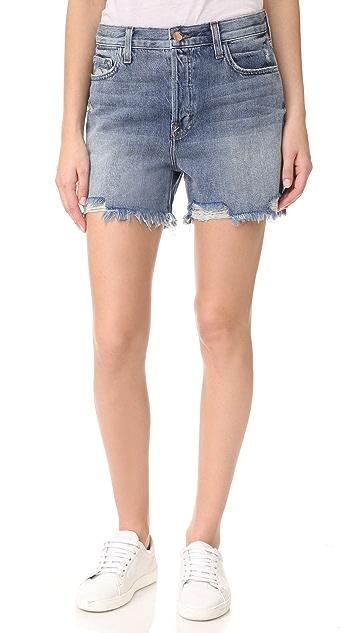 J Brand Ivy High Rise Shorts