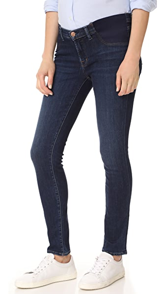 J Brand Maternity J Skinny Jeans - Fleeting
