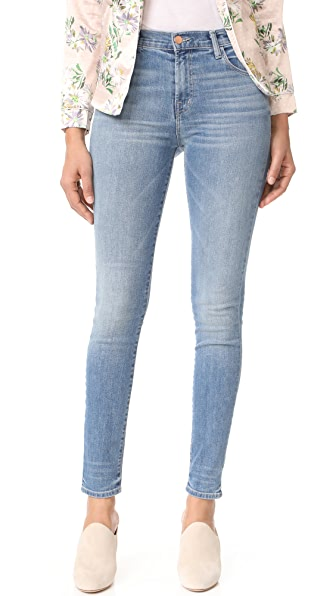 J Brand Maria High Rise Skinny Jeans - Adventure