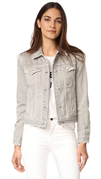 J Brand Slim Jacket - Pale Ash