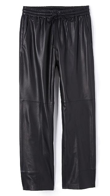 J Brand Amari Leather Pants