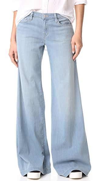 J Brand Lynette Low Rise Super Wide Leg Jeans | 15% off first app ...