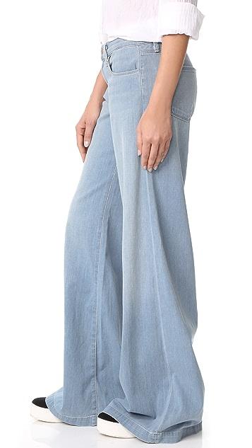 J Brand Lynette Low Rise Super Wide Leg Jeans
