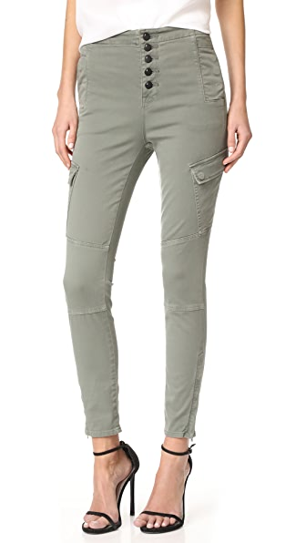 J Brand Практичные брюки-карго Brigitte Sky High