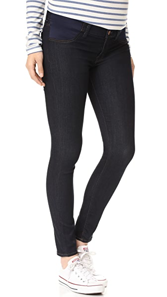 J Brand Mama J Maternity Super Skinny Jeans - After Dark