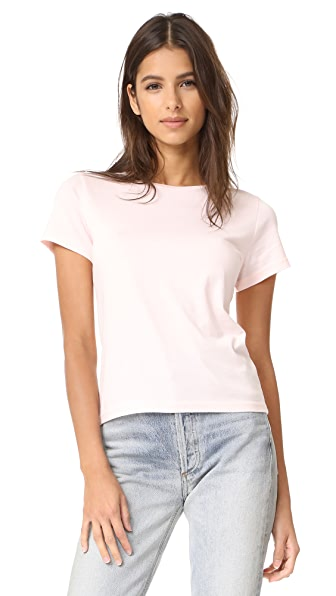 J Brand 811 Short Sleeve Tee In Cupid
